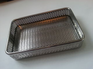 Ultrasonic Cleaner Stainless Basket 150mm x 100mm x 30mm